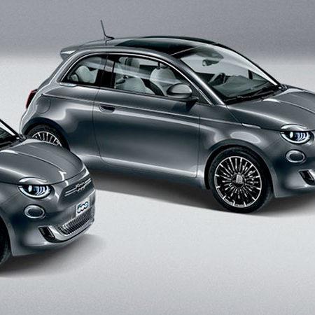"""Garage Vincent Renaux - Fiat 500 """"La Prima"""" Full Electrique"""